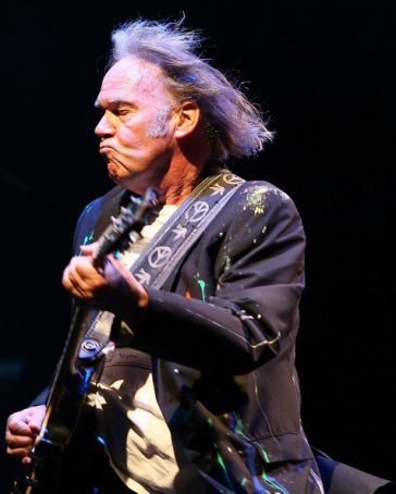 Neil Young in Rome