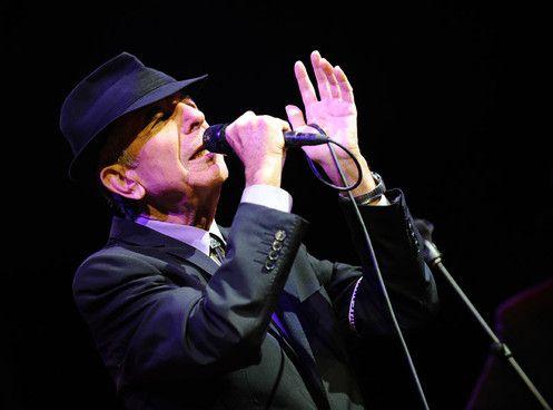 Leonard Cohen in Rome