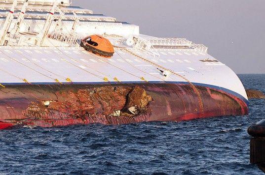 Costa Concordia anniversary