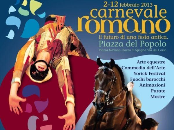 Carnival time in Rome