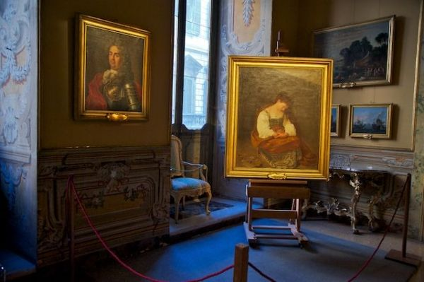 Restoration of Caravaggio and Vasari paintings at Doria Pamphilj
