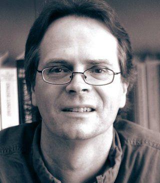 Poet David Starkey in Rome