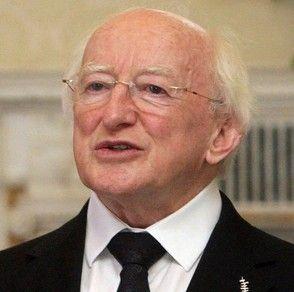Irish president visits Rome