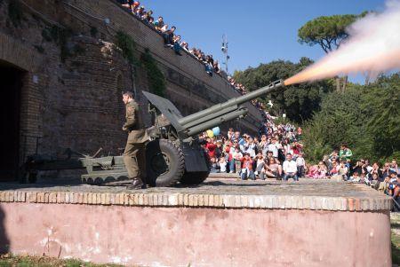 Il cannone del Gianicolo