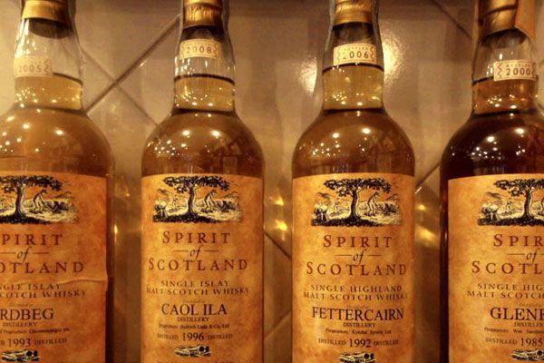Scottish whisky festival in Rome