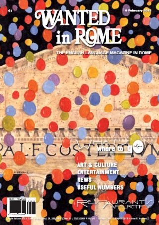 6 Feb edition of Wanted in Rome in newsstands
