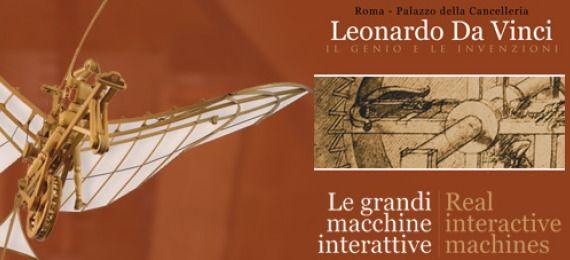 Leonardo da Vinci: Real interactive machines