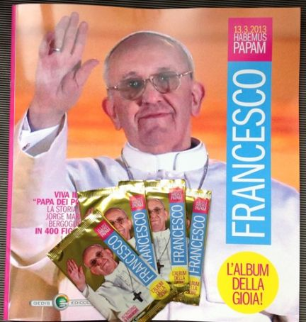 Stickers for Pope Francis