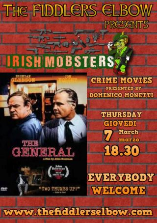 Irish gangster films in Rome