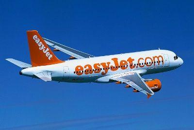 EasyJet flies Rome-Milan Linate