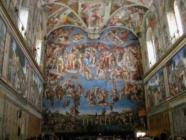 Sistine Chapel closes to public