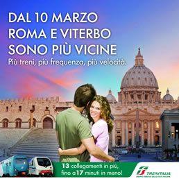 More trains on Rome Viterbo line