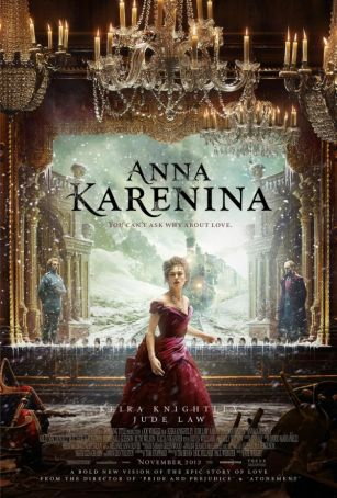 English language cinema in Rome: Anna Karenina