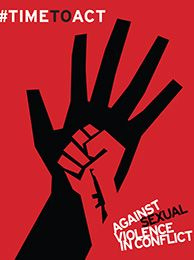 Time to Act Against Sexual Violence in Conflict