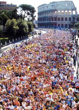 Marathon season in Rome