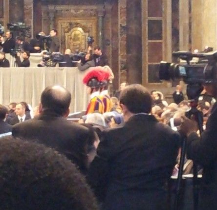 Opening the conclave