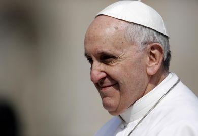 Pope Francis installed as bishop of Rome