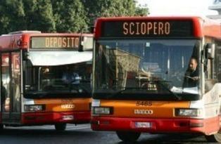 Public transport strikes in Rome