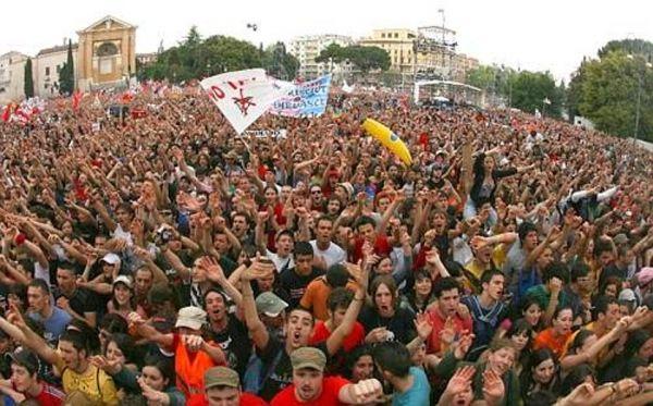 Labour Day in Rome