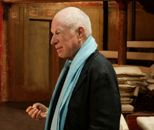 Peter Brook in Rome