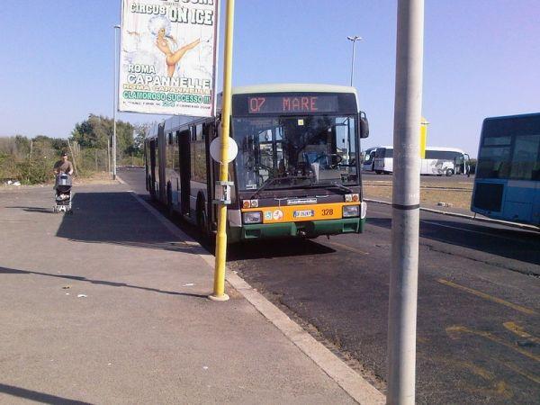 Rome bus service to Ostia beaches