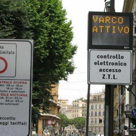 Summer ZTL in Trastevere and S Lorenzo