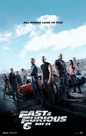 English language cinema in Rome: Fast & Furious 6