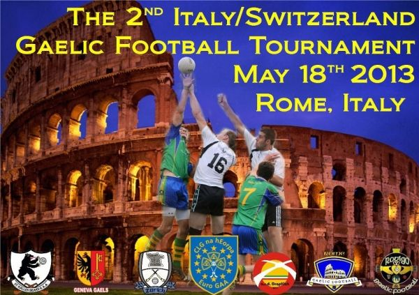 Gaelic Football tournament in Rome