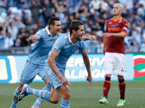 Lazio beats AS Roma