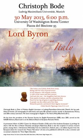 Lord Byron and Italy