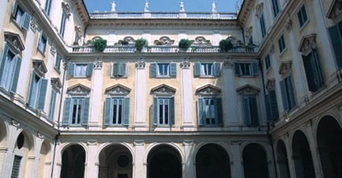Rome's private palaces open their courtyards