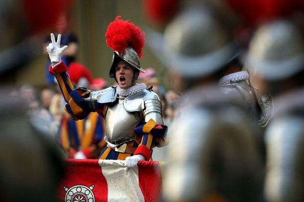 New Swiss guards at Vatican