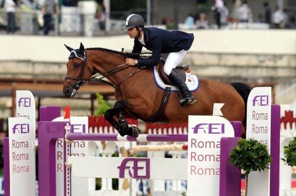 Rome's Piazza di Siena horse show
