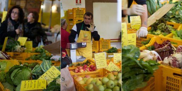 Farmers' market at Circo Massimo