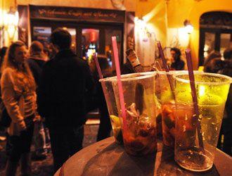 Rome too noisy at night