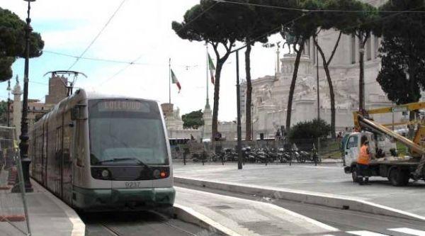 Rome's tram 8 gets new terminus