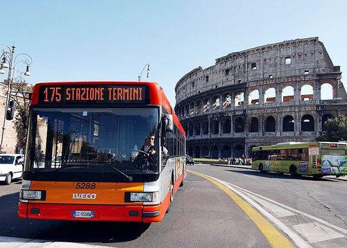 Rome bus company runs short of cash