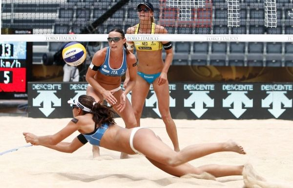 Beach Volleyball in Rome