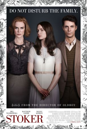 English language cinema in Rome: Stoker