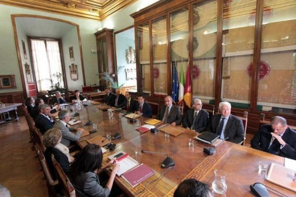Rome's new city government