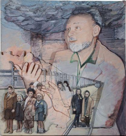 Survivor. Primo Levi portraits by Larry Rivers