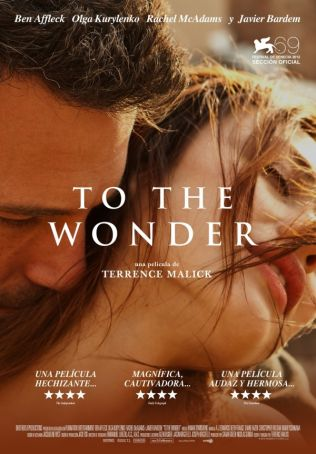 English language cinema in Rome: To the Wonder