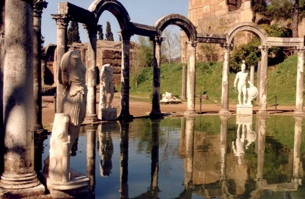 Major discovery at Hadrian's Villa