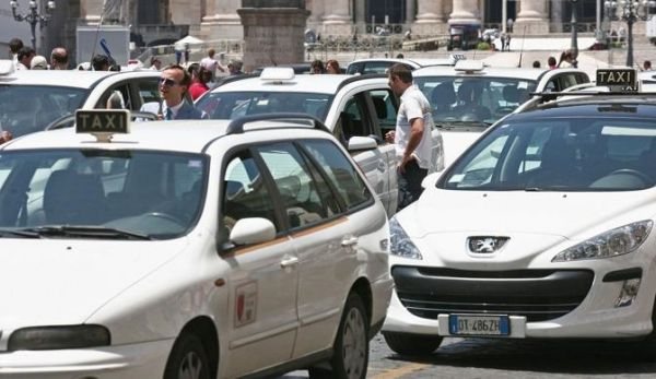 Are Roman taxi drivers rude?