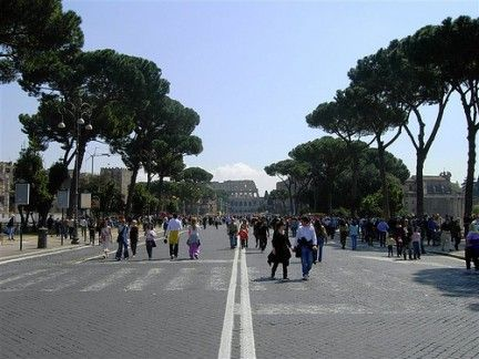 Colosseum traffic plan accelerated