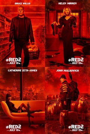 English language cinema in Rome: Red 2