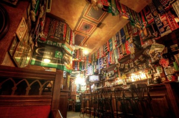 International football scarf collection in Rome