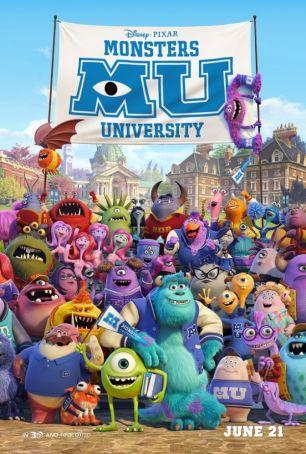 English language cinema in Rome: Monsters University