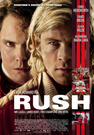 English language cinema in Rome: Rush