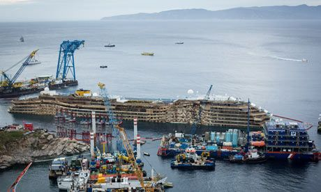 Where next for Costa Concordia?